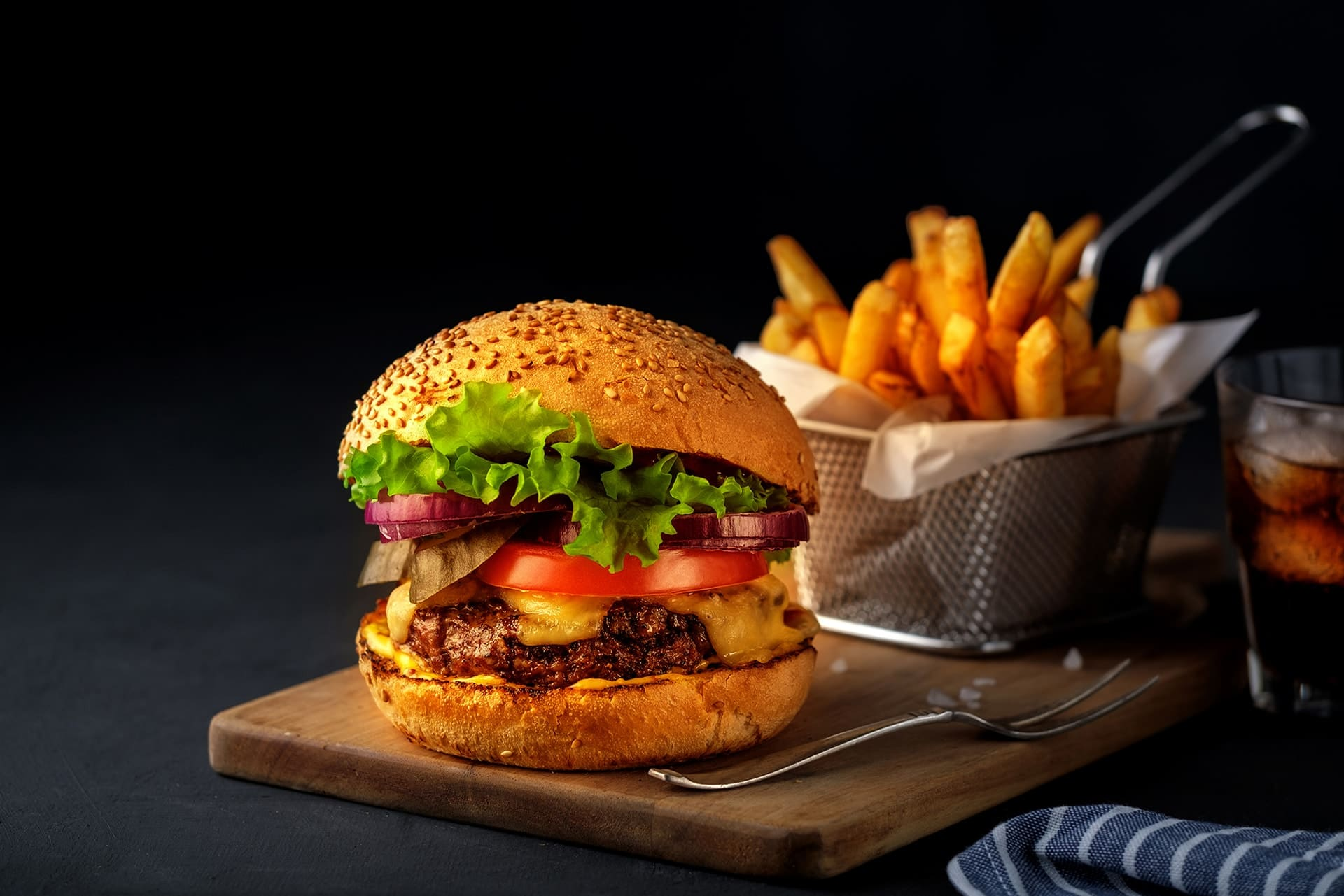 Le branzin burger